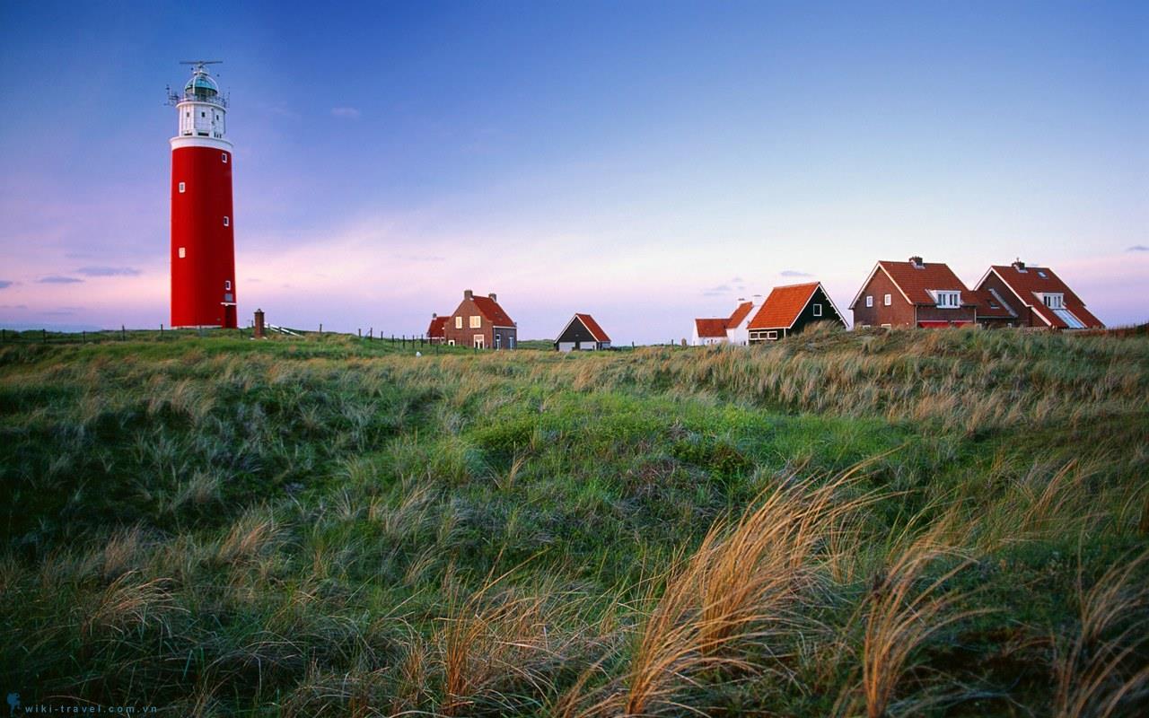 Vẻ đẹp yên bình Hà Lan.