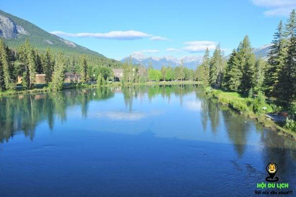 vẻ đẹp thơ mộng của dòng sông Bow- ảnh sưu tầm