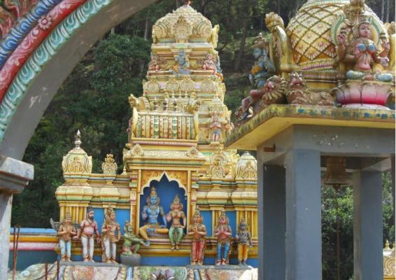 Đền Seetha Amman ở Sri Lanka kiến truc rất tinh xảo - ảnh sưu tầm