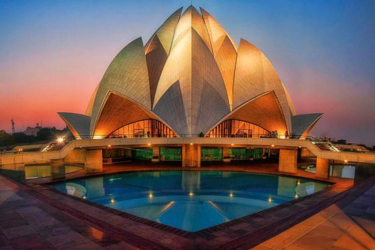 Đền hoa sen một trong những kiệt tác kiến trúc Ấn Độ- ảnh sưu tầm