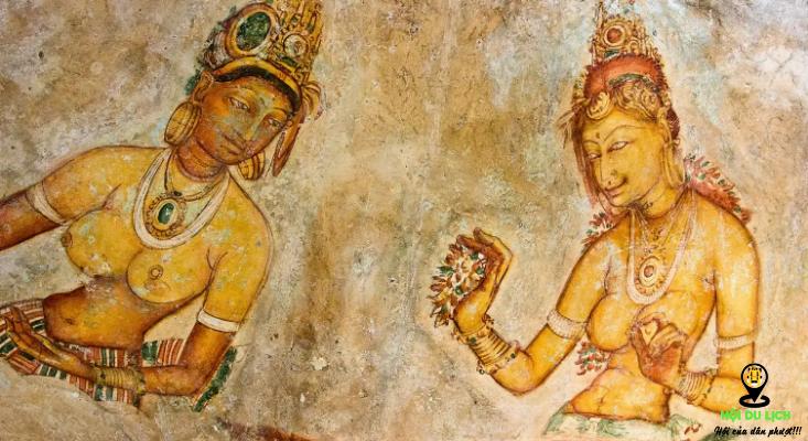 Chiêm ngưỡng những bức họa tài ba trong núi đá sư tử- ảnh sưu tầm