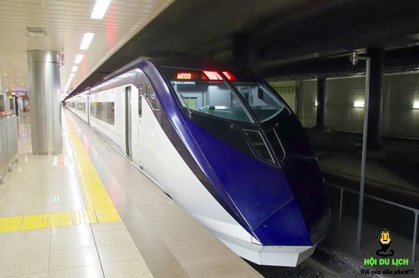 Du lịch Nhật Bản bằng tàu điện ngầm - ảnh sưu tầm