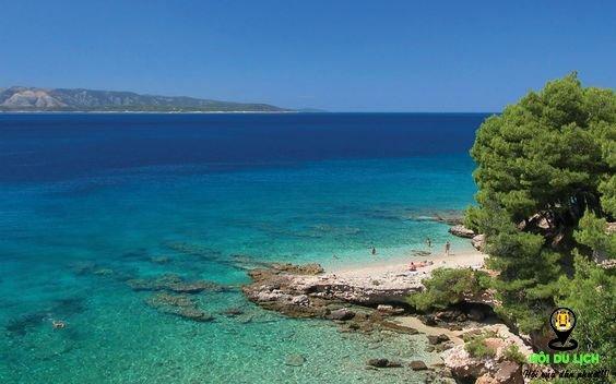 Rab Island, Croatia cảnh quan độc - lạ, hoang dã, tự nhiên