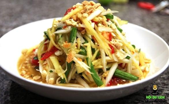 Món gỏi đu đủ ngon ở Chiang Mai ( ảnh sưu tầm )