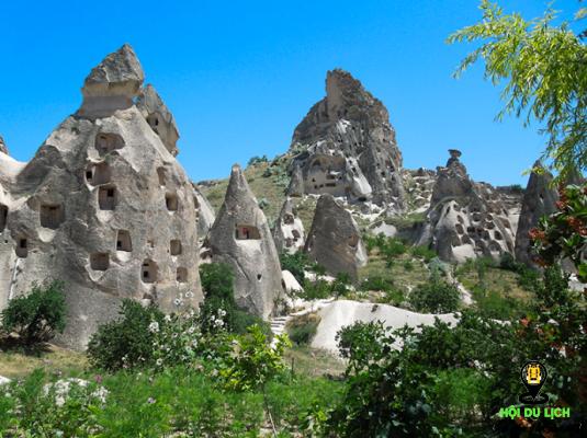 Những ngôi làng cổ xưa ở Cappadocia - ảnh sưu tầm