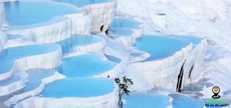 Pamukkale hồ nước bậc thang đẹp độc lạ ở Thổ Nhĩ Kì- ảnh sưu tầm