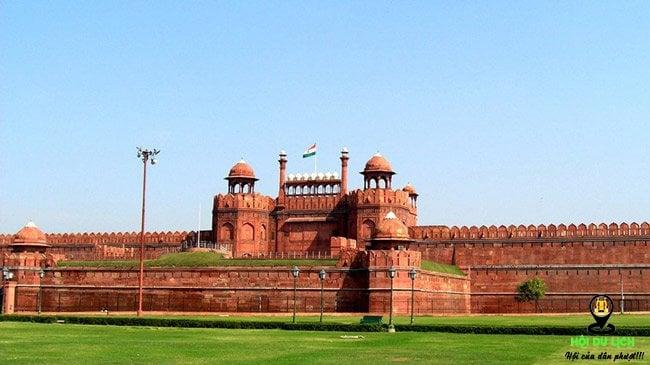 Pháo đài đỏ kì vĩ ở Ấn Độ (ảnh sưu tầm)
