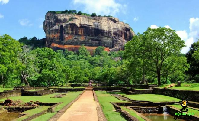 Pháo đài sư tử hùng vĩ ở Sri Lanka- ảnh sưu tầm