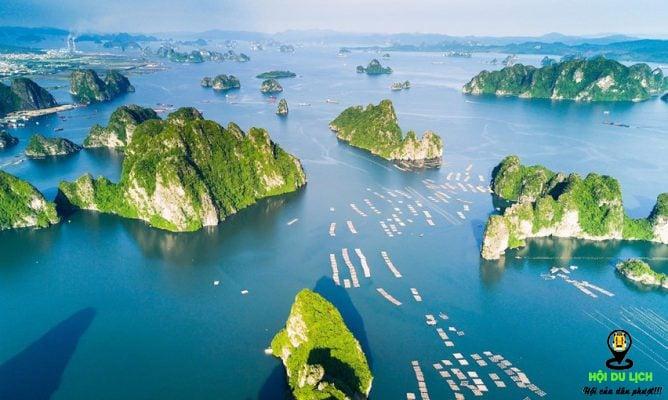 Phong cảnh thiên nhiên hùng vĩ tại Vịnh Hạ Long