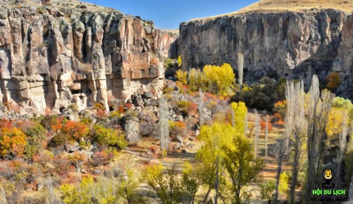 Thung lũng Ihlara đẹp thơ mộng - ảnh sưu tầm