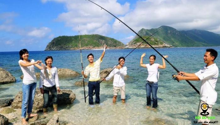 Trải nghiệm câu cá tại Hàm Ninh- ảnh sưu tầm