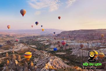 Thung lũng Cappadocia đẹp độc đáo, ấn tượng ở Thổ Nhĩ Kì