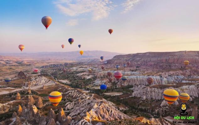 Trải nghiệm tuyệt vời đi kinh khí cầu để ngắm cảnh - ảnh sưu tầm