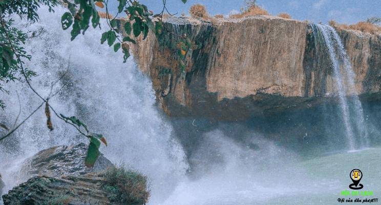 Vẻ đẹp của thác DraySap ( thác chồng)