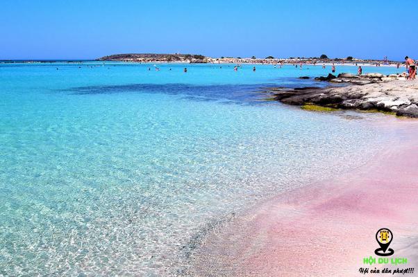 Bãi biển Balos Lagoon không chỉ nổi tiếng ở Hy Lạp mà còn trên toàn thế giới