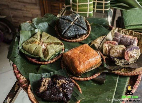 Bánh chưng đen ở Yên Bái ( ảnh sưu tầm)
