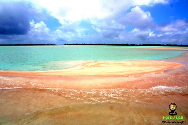 Bãi biển hồng Barbuda - Caribbean