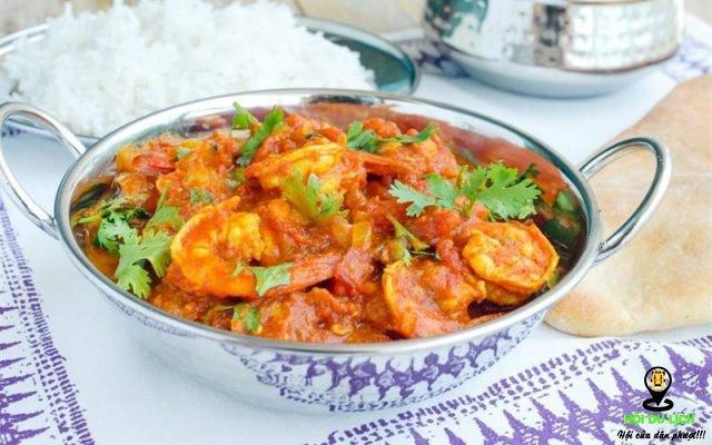 Cà ri Ấn Độ gây ấn tượng bởi hương vị nồng nàn, đậm đà