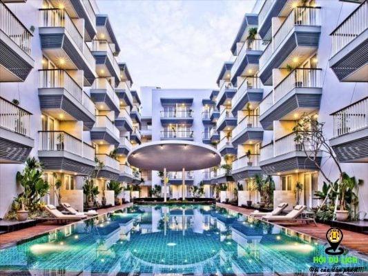 EDEN Hotel Kuta Bali khách sạn đẹp tiện nghi