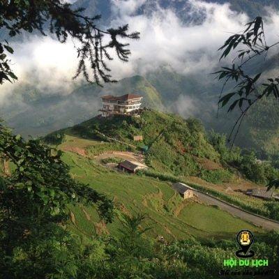 Khu nghỉ dưỡng này nằm ngay trên đồi Vọng Cảnh