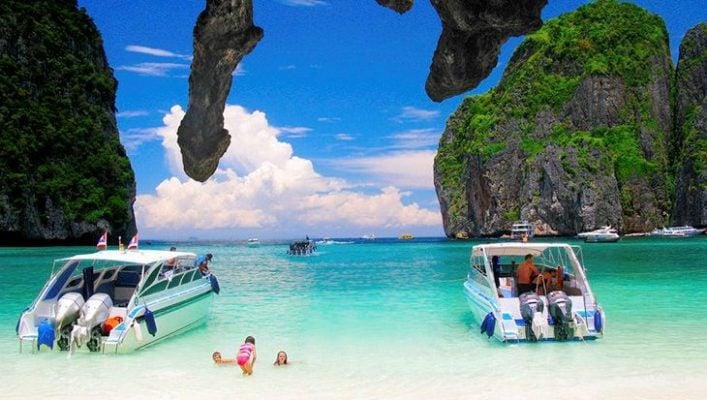 Đảo Phi Phi xinh đẹp ở Thái Lan (ảnh sưu tầm)