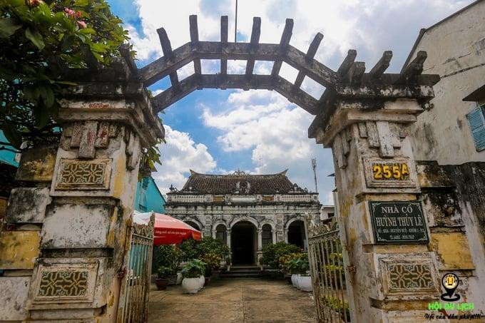 Ngôi nhà hơn 120 năm tuổi cho khách ở lại qua đêm