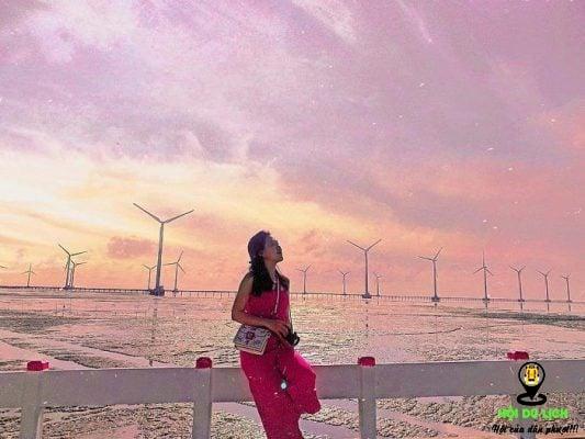 cánh đồng điện gió tại Việt Nam