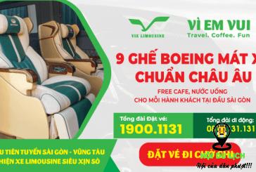 Sài Gòn đi Vũng Tàu cùng hãng xe VIE Limousine