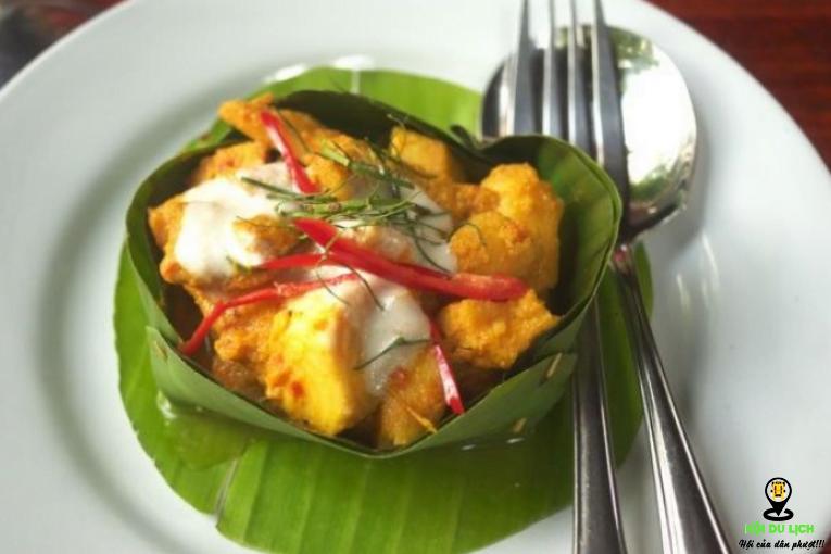 Amok món ăn truyền thống ngon độc đáo tại Campuchia (ảnh sưu tầm)