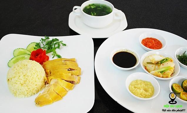 Món cơm gà Hải Nam ngon khó cưỡng ở Singapore (ảnh sưu tầm)