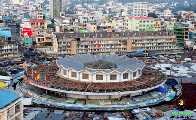 Chợ Đầm Nha Trang có thiết kế nổi bật