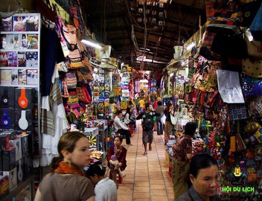 Chợ Nga được nhiều khách du lịch yêu thích (ảnh sưu tầm)