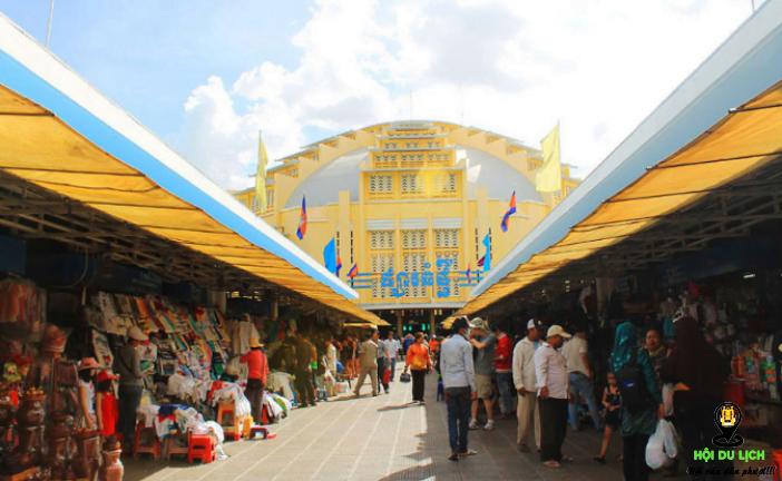 Top 5 khu chợ mua sắm uy tín giá rẻ nhất tại Phnom Penh Camphuchia