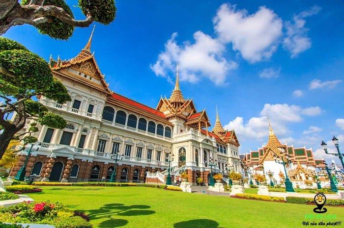 Cung điện hoàng gia - Grand Palace