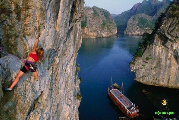 Leo núi ở biển - những trò chơi mạo hiểm được giới trẻ yêu thích nhất
