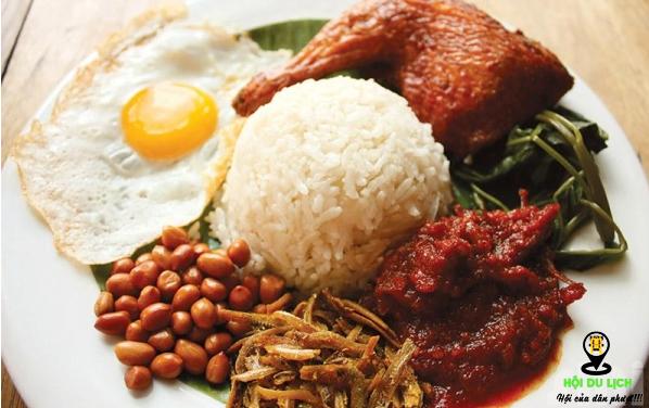Món cơm sốt nước dừa cực ngon tại Sngapore (ảnh sưu tầm)