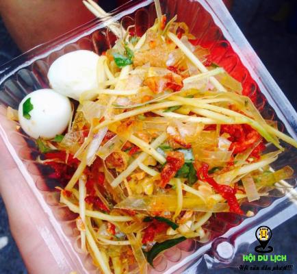 Món bánh tráng trộn Sài Gòn (ảnh sưu tầm)