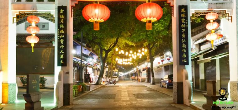 Mua sắm ở phố cổ Qinghefang