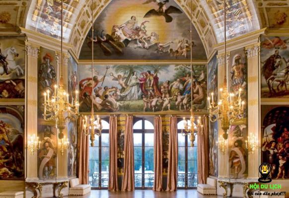 Những bức họa tại Huis Ten Bosch Palace (ảnh sưu tầm)