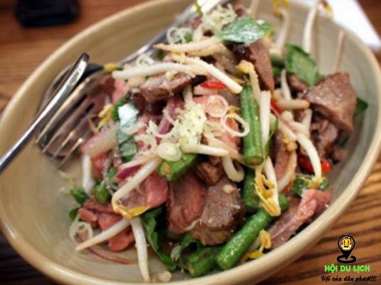 Thịt bò tái chanh ngon hấp dẫn
