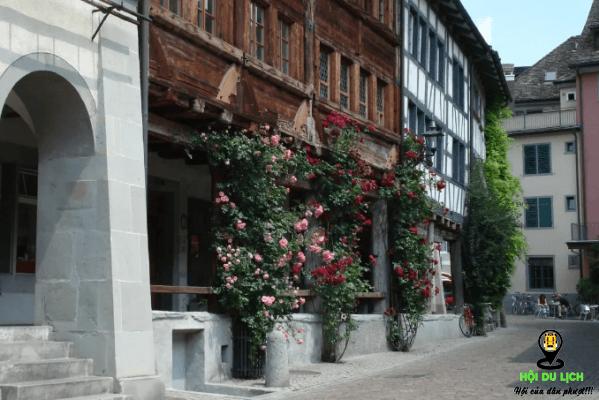Tham quan phố cổ hoa hồng (ảnh sưu tầm)