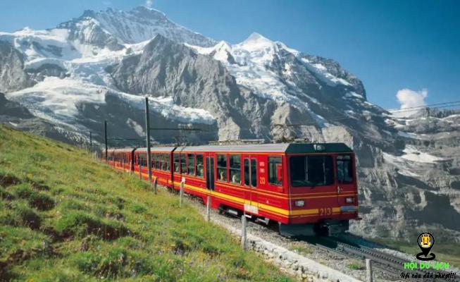 Trải Nghiệm đi Xe Lửa để Khám Phá Jungfraujoch (ảnh sưu tầm)
