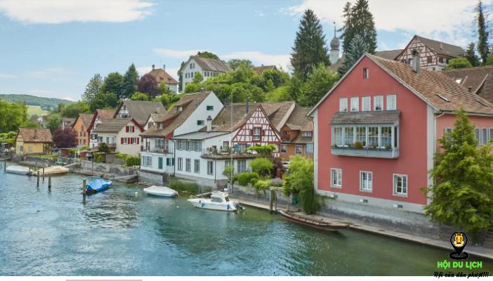 Trấn trung cổ Stein am Rhein đẹp yên bình ( ảnh sưu tầm)
