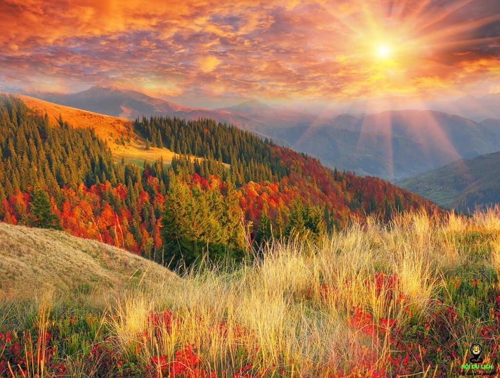 dãy núi Carpathian