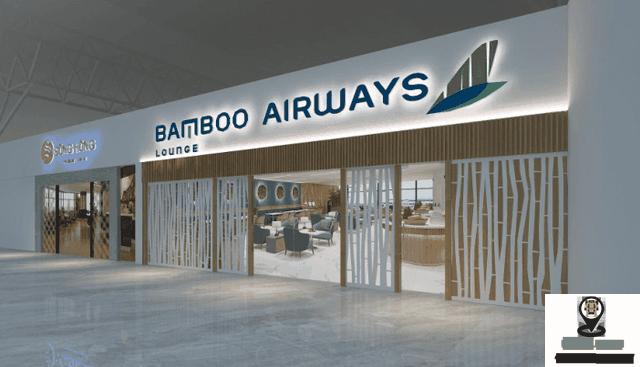 Mặt tiền phòng chờ hạng Thương gia – Bamboo Airways