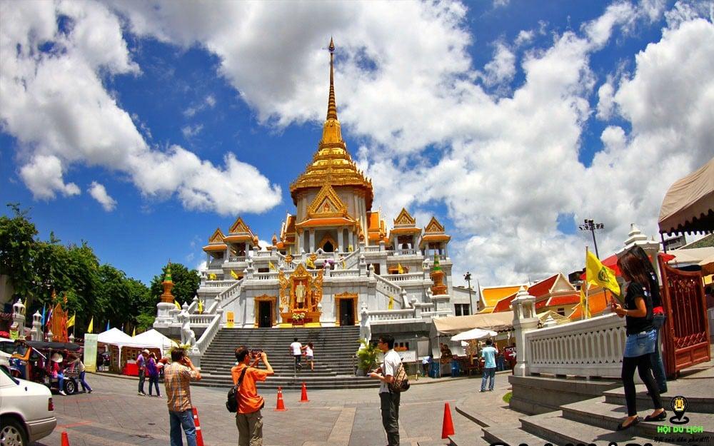 Chùa Phật Vàng - địa điểm du lịch Thái Lan.