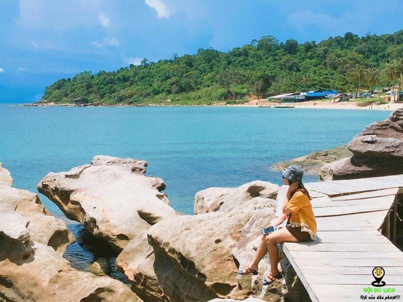 Cảnh trí Mũi Rạch Dầu - Phú Quốc. Ảnh sưu tầm
