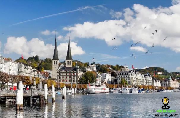 Thành phố Lucerne đẹp yên bình (ảnh sưu tầm)