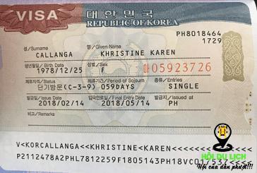 Thủ tục xin visa Hàn Quốc và những thay đổi mới