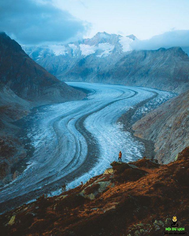 Những điều thú vị chỉ có ở sông băng Aletsch